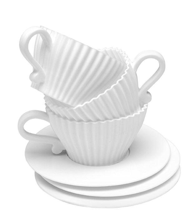 tea cup cupcake cases