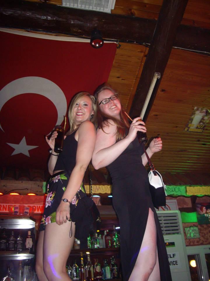 Turkey Nicole and Sian